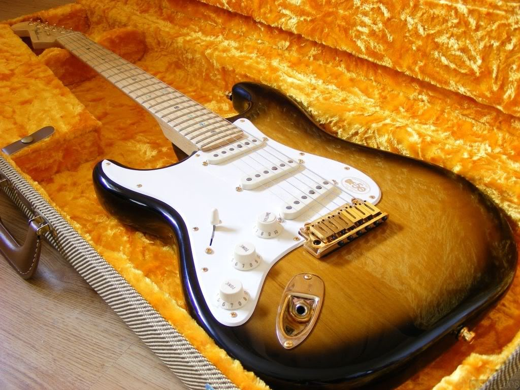 Fender American Deluxe Strat 50th Anniversary